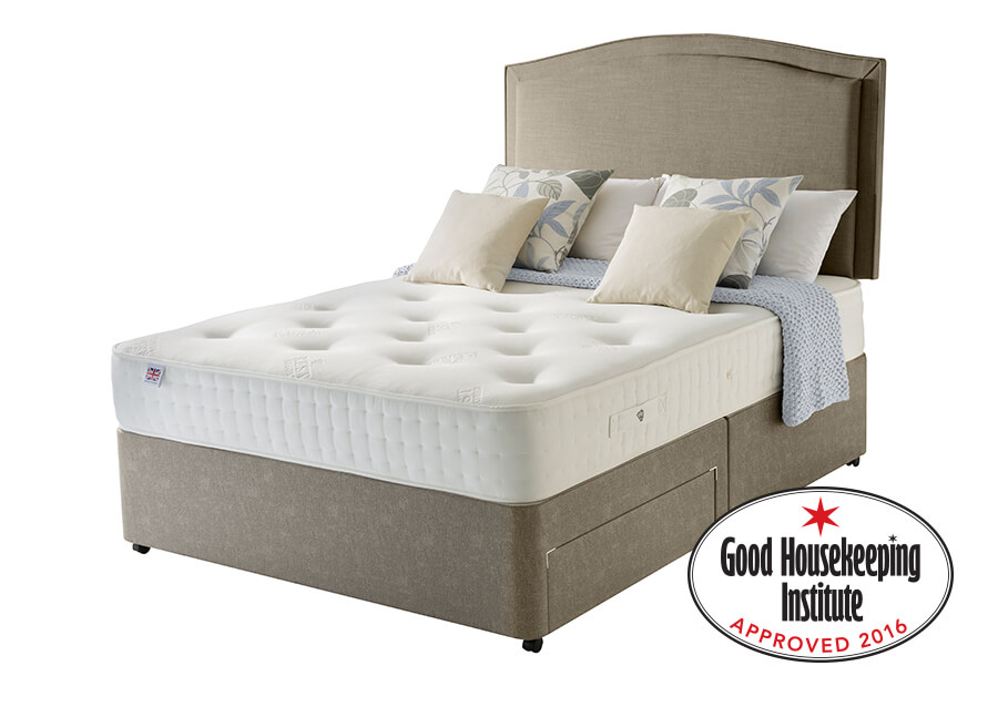 Audley Natural 800 Pocket Divan Bed