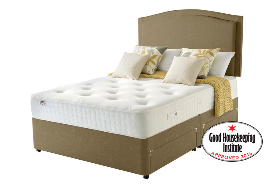 Harewood Memory 800 Pocket Divan Bed
