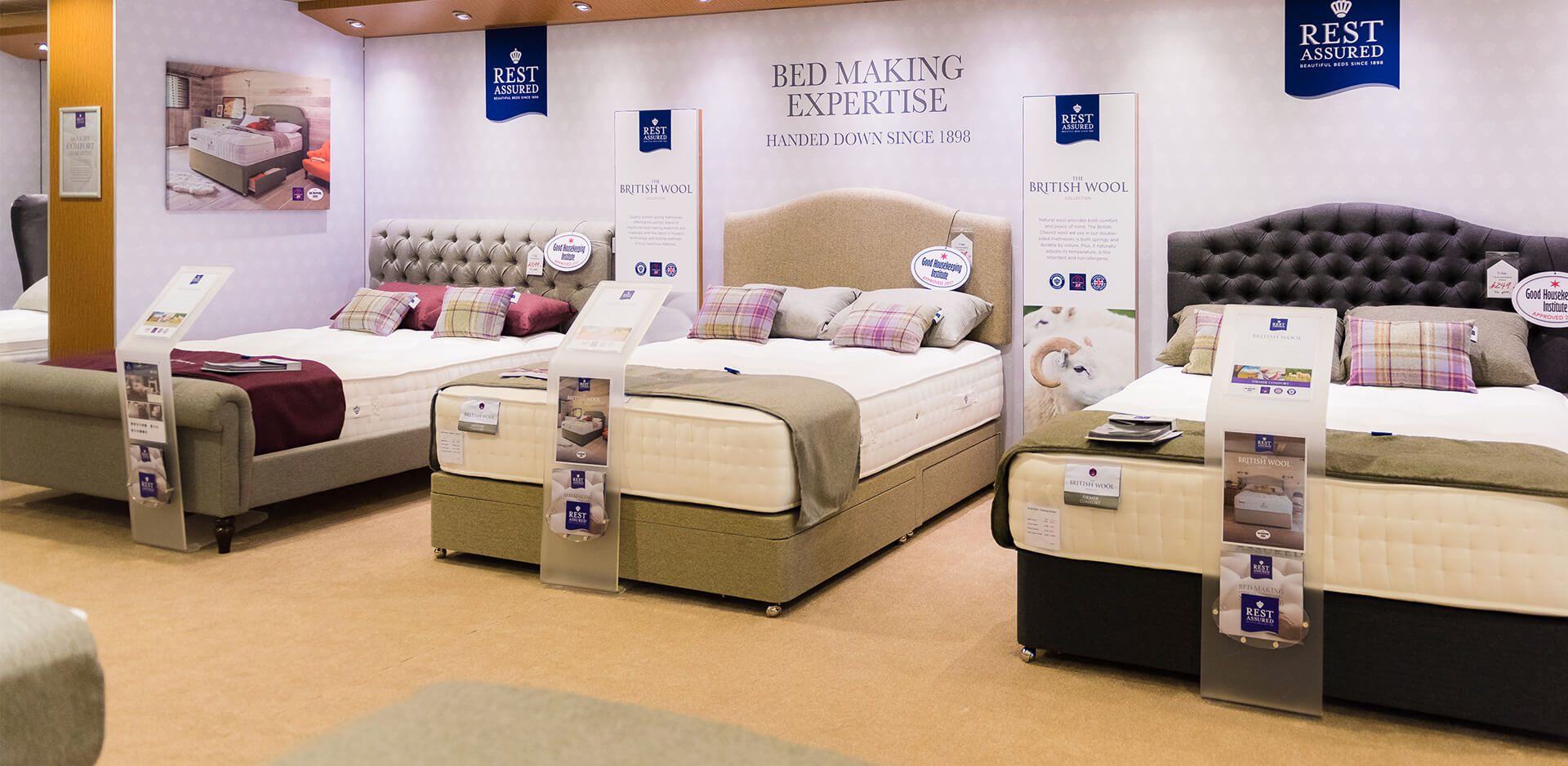 Rest Assured Beds Luxury Beds